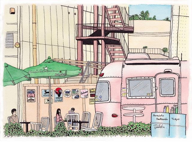 原宿オープンカフェ