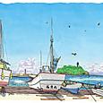 鎌倉 腰越漁港