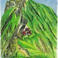 山小屋と横岳/八ヶ岳